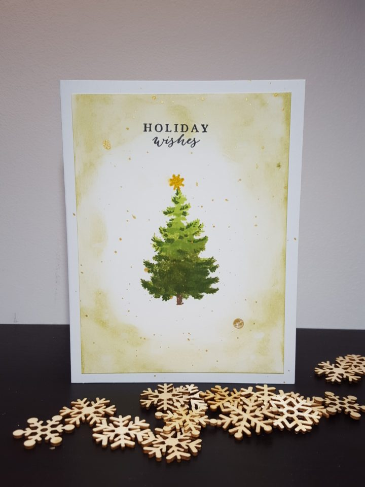 Christmas cards mix